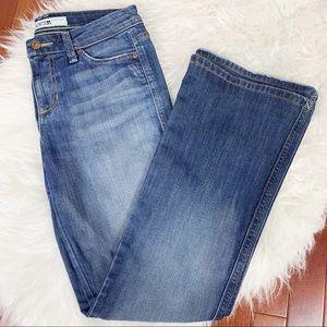 JOES Bootcut Medium Wash Whiskered Jean 26